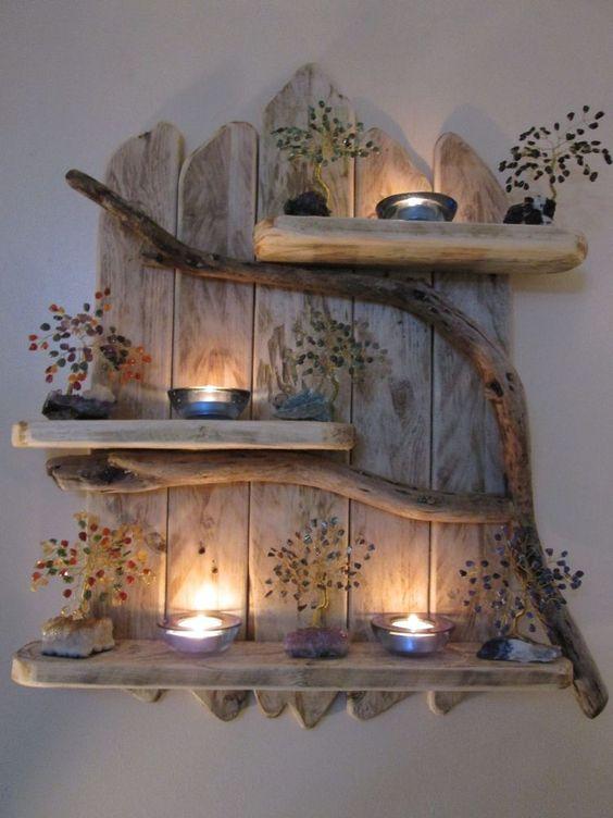 Meuble Bois Deco Rustique Futur Home Design